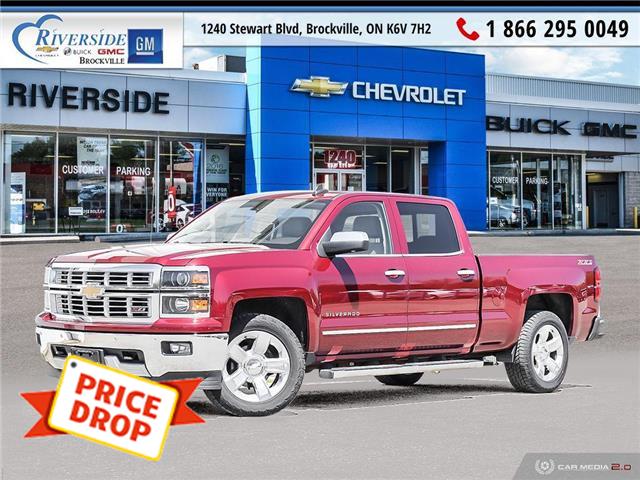2015 Chevrolet Silverado 1500 2LZ (Stk: 20-177A) in Brockville - Image 1 of 27
