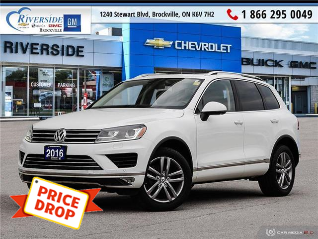 2016 Volkswagen Touareg 3.6L Highline (Stk: 19-296A) in Brockville - Image 1 of 26