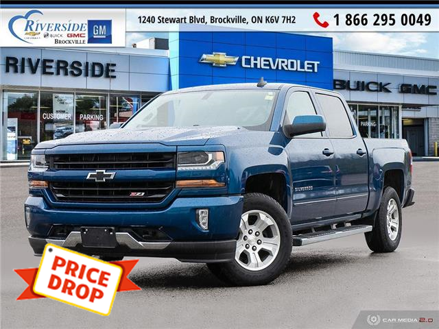 2017 Chevrolet Silverado 1500 2LT (Stk: 20-316A) in Brockville - Image 1 of 27