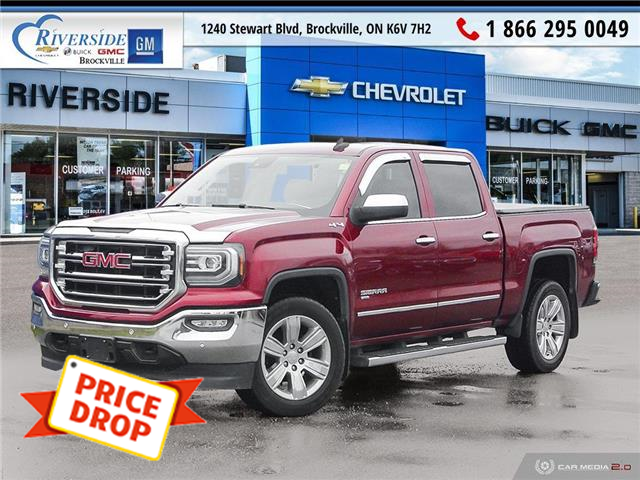 2017 GMC Sierra 1500 SLT (Stk: 20-309A) in Brockville - Image 1 of 27