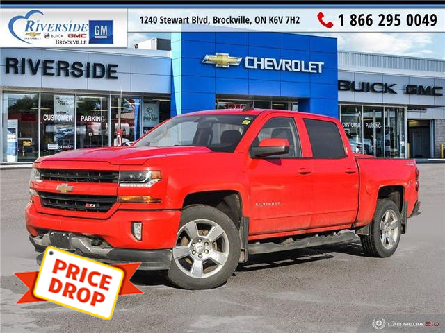 2017 Chevrolet Silverado 1500 2LT (Stk: 20-350A) in Brockville - Image 1 of 27