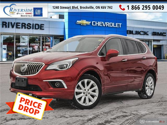 2018 Buick Envision Premium II (Stk: 20-212A) in Brockville - Image 1 of 27