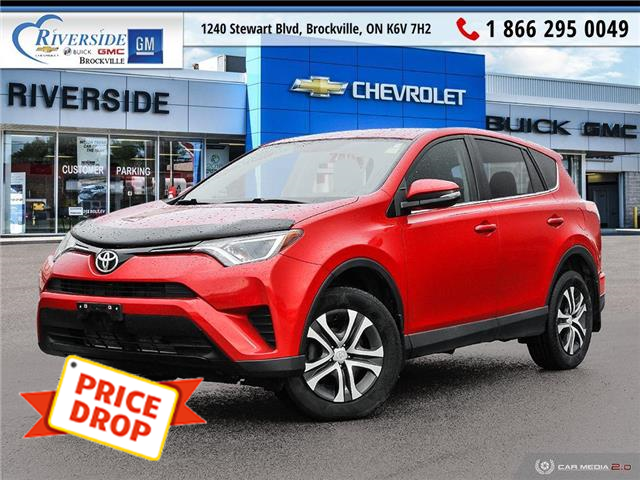 2016 Toyota RAV4 LE (Stk: PR1681) in Brockville - Image 1 of 7