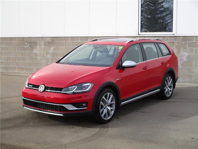 2019 Volkswagen Golf Alltrack 1.8 TSI Execline (Stk: 190566) in Regina - Image 1 of 44