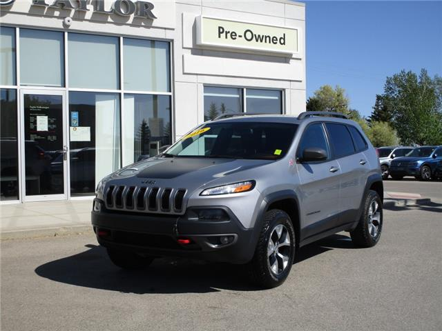 2016 Jeep Cherokee Trailhawk (Stk: F6673) in Regina - Image 1 of 28