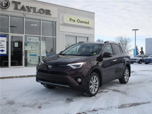 2018 Toyota RAV4 Limited (Stk: 2002081) in Regina - Image 1 of 40