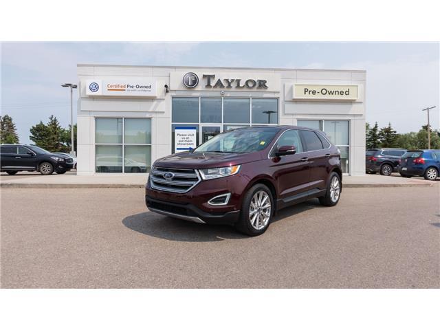 2017 Ford Edge Titanium (Stk: 2100432) in Regina - Image 1 of 38