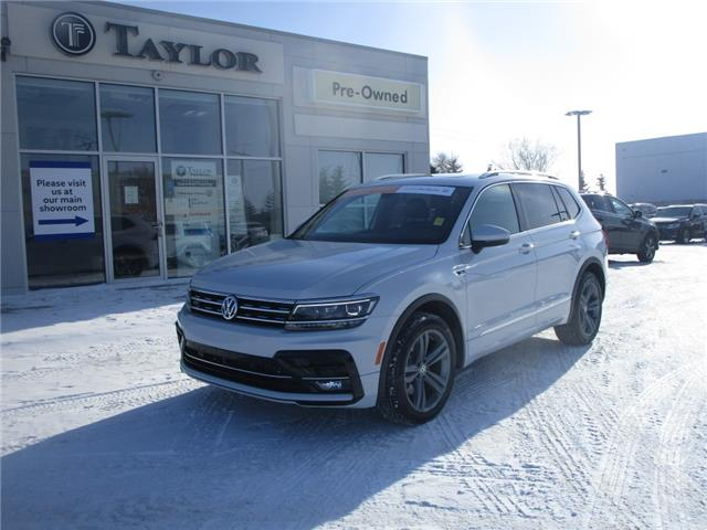 2018 Volkswagen Tiguan Highline (Stk: 2101181) in Regina - Image 1 of 50