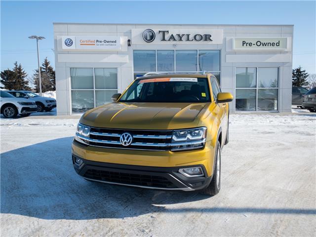 2018 Volkswagen Atlas 3.6 FSI Highline 1V2MR2CA4JC506078 2100141 in Regina