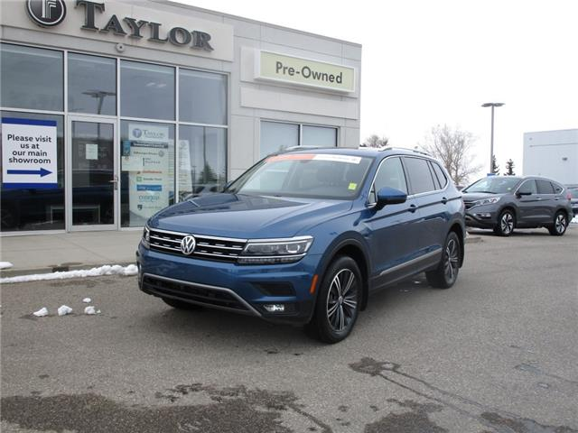 2018 Volkswagen Tiguan Highline (Stk: 2102821) in Regina - Image 1 of 49