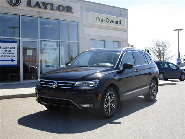 2018 Volkswagen Tiguan Highline (Stk: 2102511) in Regina - Image 1 of 50
