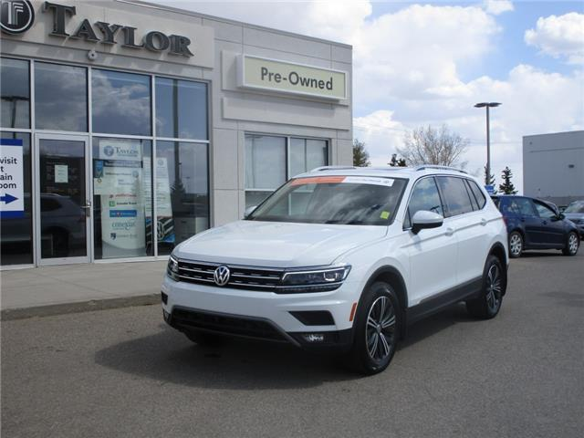 2018 Volkswagen Tiguan Highline (Stk: 2102981) in Regina - Image 1 of 50