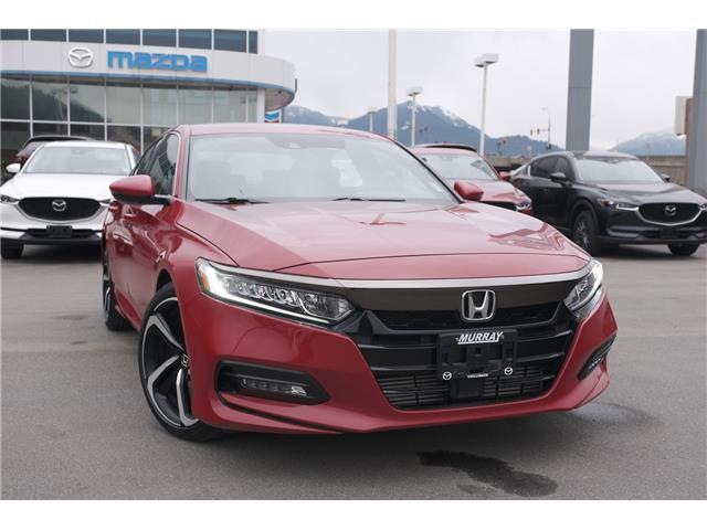 2018 Honda Accord Sport (Stk: 20M075A) in Chilliwack - Image 1 of 29