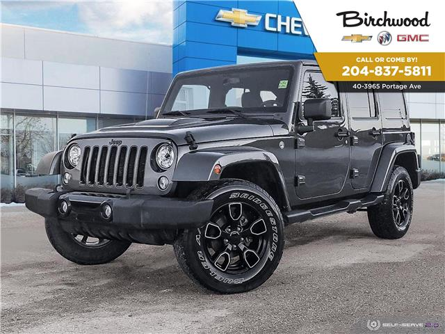 2018 Jeep Wrangler JK Unlimited Sahara (Stk: F32TEA) in Winnipeg - Image 1 of 27