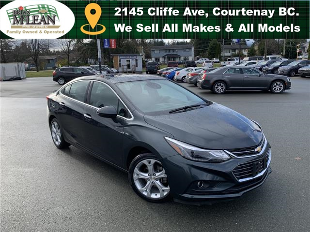 2017 Chevrolet Cruze Premier Auto (Stk: M6022A-21) in Courtenay - Image 1 of 30
