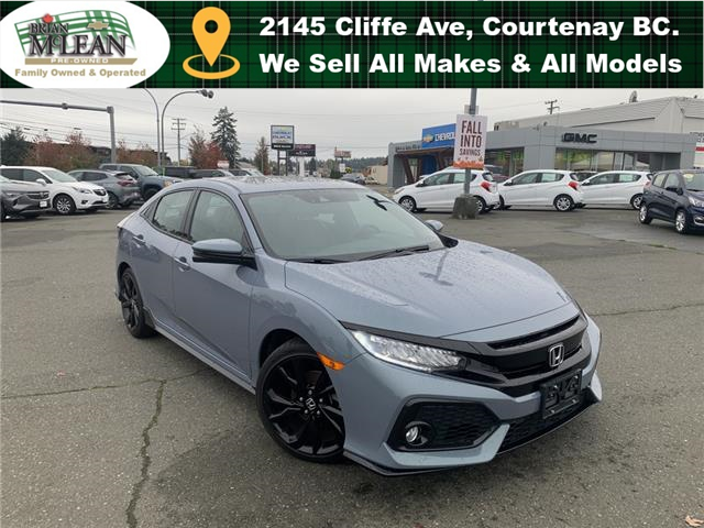 2018 Honda Civic Sport Touring (Stk: M6207A-21) in Courtenay - Image 1 of 30