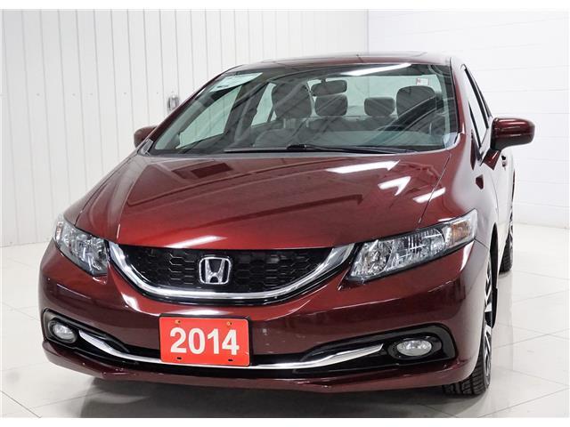 2014 Honda Civic Touring (Stk: P5695B) in Sault Ste. Marie - Image 1 of 24