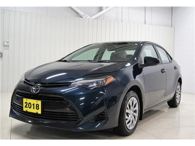 2018 Toyota Corolla LE (Stk: A20116A) in Sault Ste. Marie - Image 1 of 17