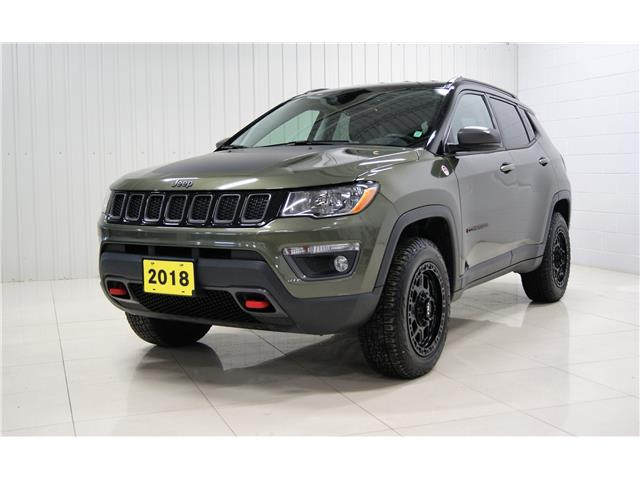 2018 Jeep Compass Trailhawk (Stk: P6077A) in Sault Ste. Marie - Image 1 of 16