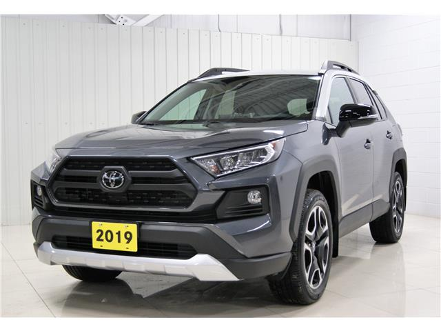 2019 Toyota RAV4 Trail (Stk: H20004A) in Sault Ste. Marie - Image 1 of 16