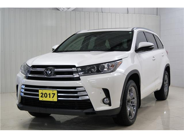 2017 Toyota Highlander Limited (Stk: H21001A) in Sault Ste. Marie - Image 1 of 17