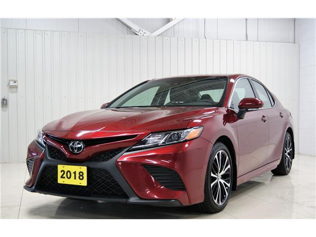 2018 Toyota Camry SE (Stk: S21001A) in Sault Ste. Marie - Image 1 of 16