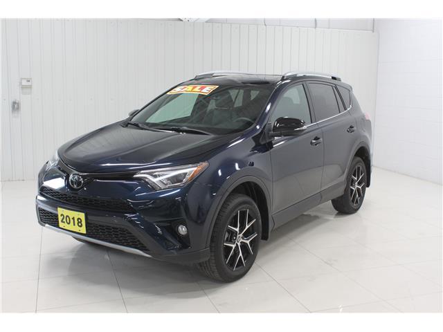 2018 Toyota RAV4 SE (Stk: Z21014A) in Sault Ste. Marie - Image 1 of 15