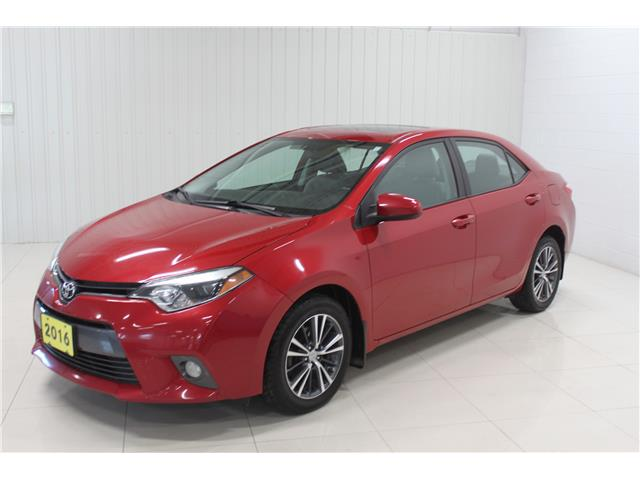 2016 Toyota Corolla LE (Stk: A21016A) in Sault Ste. Marie - Image 1 of 16