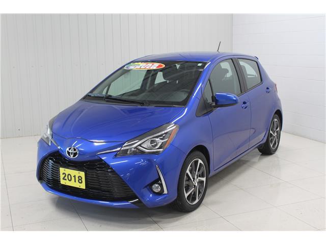 2018 Toyota Yaris SE (Stk: P6556) in Sault Ste. Marie - Image 1 of 14