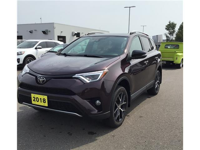 2018 Toyota RAV4 SE (Stk: V21344A) in Sault Ste. Marie - Image 1 of 1