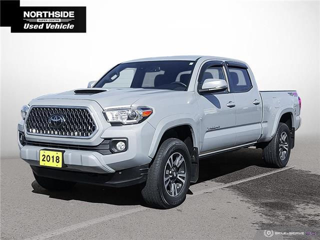 2018 Toyota Tacoma SR5 (Stk: T21277A) in Sault Ste. Marie - Image 1 of 21
