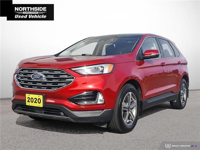2020 Ford Edge SEL (Stk: T21229A) in Sault Ste. Marie - Image 1 of 25