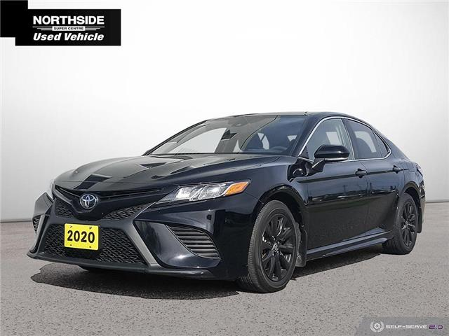 2020 Toyota Camry SE (Stk: S21013A) in Sault Ste. Marie - Image 1 of 25