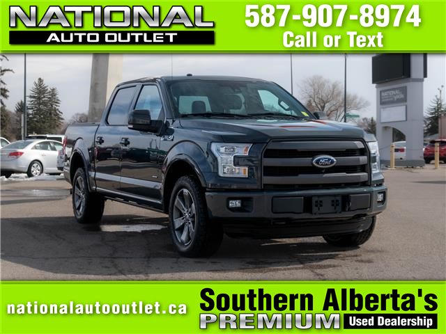 2016 Ford F-150 Lariat (Stk: NC22349) in Lethbridge - Image 1 of 25