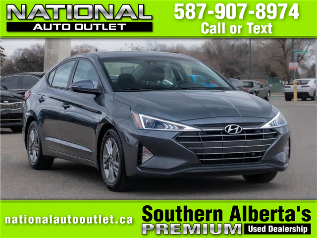 2020 Hyundai Elantra Preferred w/Sun & Safety Package (Stk: N951331) in Lethbridge - Image 1 of 23