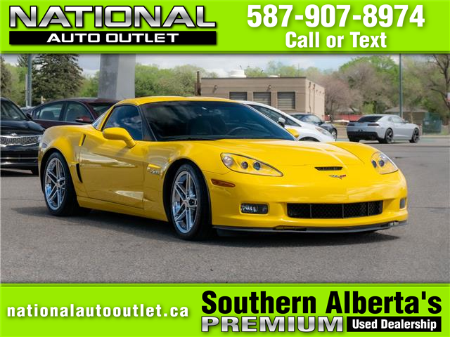 2008 Chevrolet Corvette Z06 Fixed Roof (Stk: C125918) in Lethbridge - Image 1 of 15