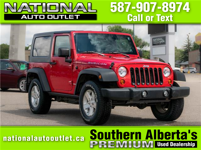2008 Jeep Wrangler Rubicon (Stk: C556465) in Lethbridge - Image 1 of 16