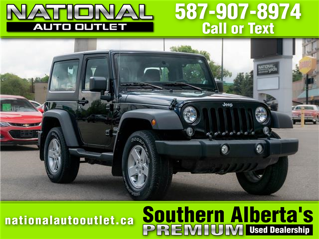 2014 Jeep Wrangler Sport (Stk: N273801) in Lethbridge - Image 1 of 16