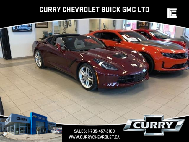2018 Chevrolet Corvette Stingray (Stk: UC05131) in Haliburton - Image 1 of 9