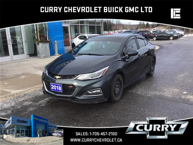 2018 Chevrolet Cruze LT Manual (Stk: UC37629) in Haliburton - Image 1 of 12