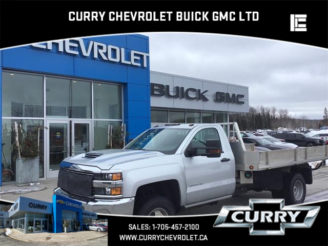 2017 Chevrolet Silverado 3500HD Chassis WT (Stk: UT10593) in Haliburton - Image 1 of 13