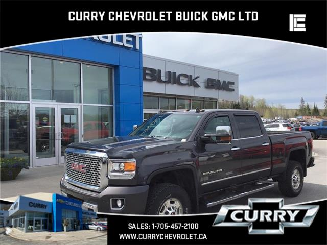 2015 GMC Sierra 2500HD Denali (Stk: UT61211) in Haliburton - Image 1 of 14