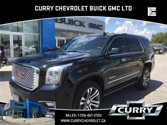 2017 GMC Yukon Denali (Stk: UT68455) in Haliburton - Image 1 of 14