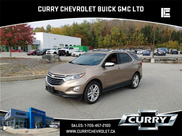 2018 Chevrolet Equinox Premier (Stk: UT15163) in Haliburton - Image 1 of 9