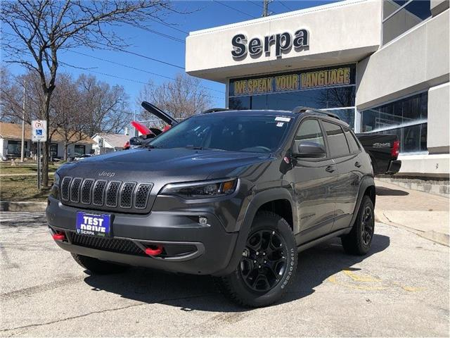 2020 Jeep Cherokee Trailhawk (Stk: 204024) in Toronto - Image 1 of 21
