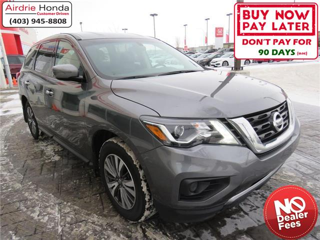 2017 Nissan Pathfinder S (Stk: U1652) in Airdrie - Image 1 of 30