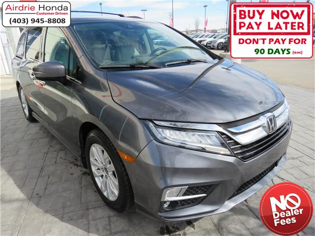 2018 Honda Odyssey Touring (Stk: U1681A) in Airdrie - Image 1 of 8