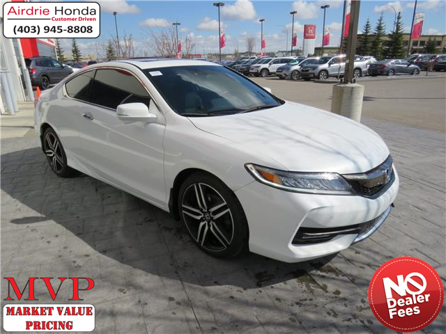 2016 Honda Accord Touring (Stk: U1685) in Airdrie - Image 1 of 31