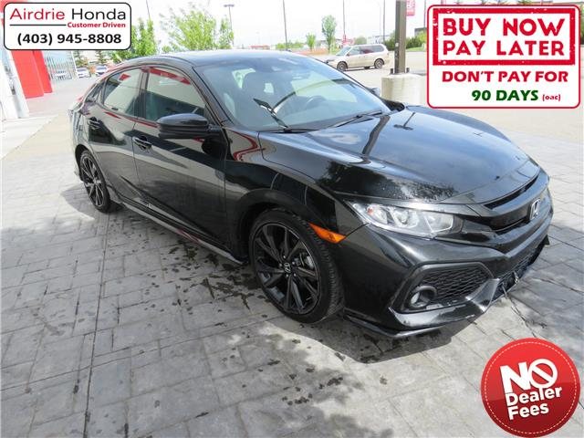 2018 Honda Civic Sport (Stk: 206276A) in Airdrie - Image 1 of 8