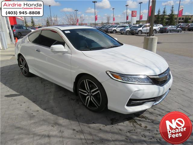 2016 Honda Accord Touring (Stk: U1685) in Airdrie - Image 1 of 30